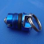 MagLite Solitaire (blau), Verschlusskappe