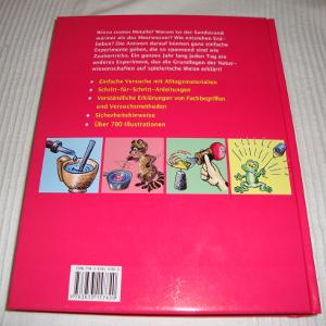 Buch: 365 einfache Experimente für Kinder (Rückseite)