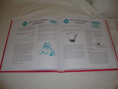 Buch: 365 einfache Experimente für Kinder (aufgeschlagen)