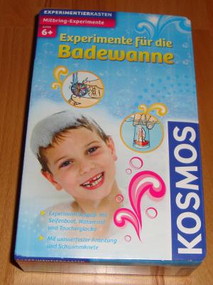 """Experimentierkasten """"Experimente für die Badewanne"""", KOSMOS (Bild 1)"""