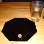 Experiment 31, Bild1: Eine Münze taucht auf (Brechung 2), Material