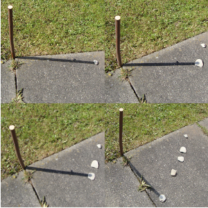Experiment 33, Bild 2: Wie funktioniert eine Sonnenuhr