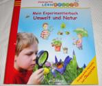 """Das Buch """"Mein Experimentierbuch Umwelt und Natur"""" von vorne"""