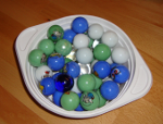 Experiment 40: Eine Schüssel voller Murmeln