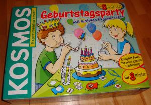 """Experimentierkasten """"Geburtstagsparty mit lustigen Experimenten"""" von KOSMOS"""