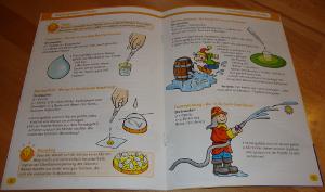 """Experimentierkasten """"Geburtstagsparty mit lustigen Experimenten"""" von KOSMOS - Anleitung"""