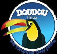 Logo Doudou Linux für Kinder (groß)